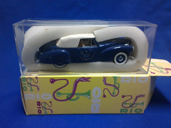 Picture of 1941 Lincoln Continental -blue