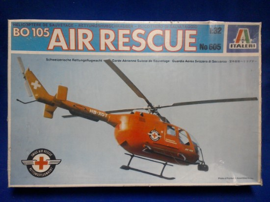 Picture of BO 105 Air Rescue Helicopter