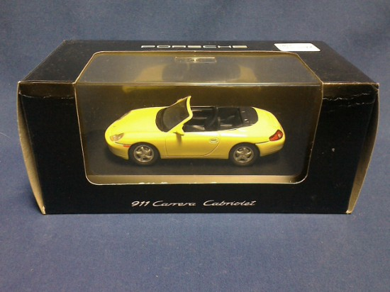 Picture of Porsche   911 Carrera Cabriolet  yellow convertible