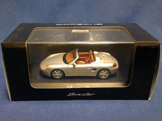 Picture of Porsche  Boxter  silver convertible