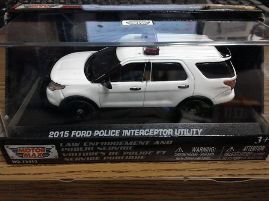 Picture of 2015 Ford Police Interceptor   white blank