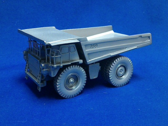 Picture of Caterpillar 789 mining truck  - pewter