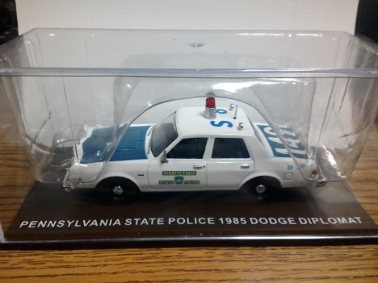 Picture of Dodge Diplomat 1985  Pennsylvania State Police Car