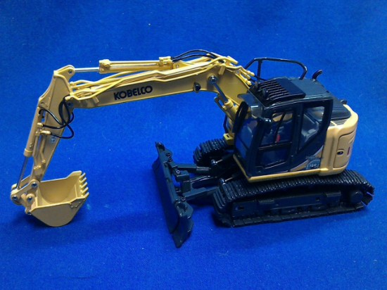 Picture of Kobelco ED160BR-5 blade runner track excavator - yellow