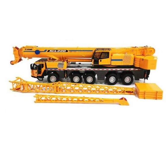 Picture of XCMG XCA220 truck crane 5 axle