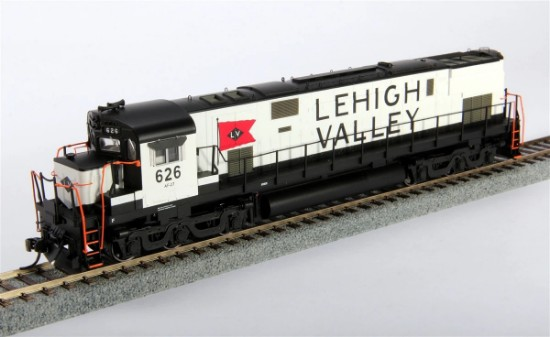 Picture of Lehigh Valley Alco C-628 Diesel Locomotive #637