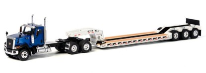 Picture of Caterpillar CT680 w/Rogers 3-Axle lowboy blue/white