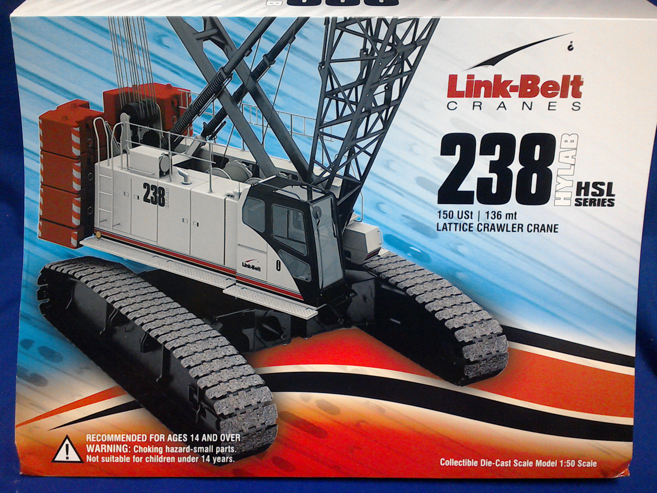 Picture of Link Belt 238 Hylab 150 Ton lattice Crawler Crane