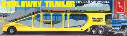 Picture of Five car auto semi trailer