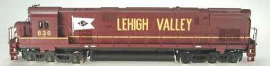 Picture of ALCO Century 628 Lehigh Valley Diesel Locomotive
