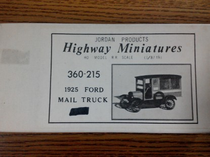 Picture of 1925 Ford Mail Truck