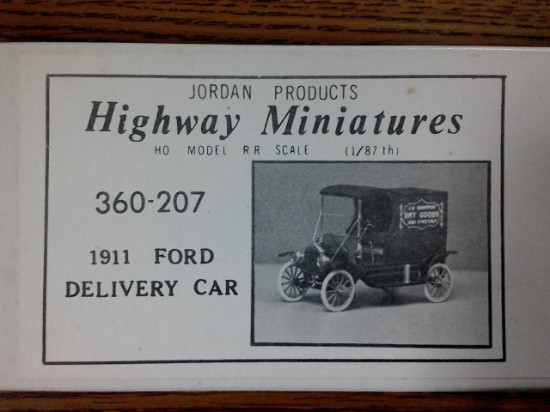 Picture of 1911 Ford Delivery Car