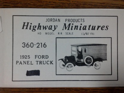 Picture of 1925 Ford Panel Truck