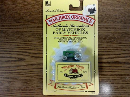 Picture of MATCHBOX ORIGINALS, AUTHENTIC RECREATIONS, NO 4, Massey Harris Tractor
