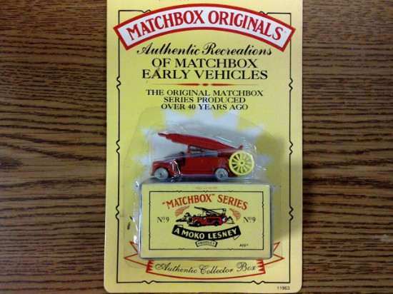 Picture of MATCHBOX ORIGINALS, AUTHENTIC RECREATIONS, NO 9, Fire Engine
