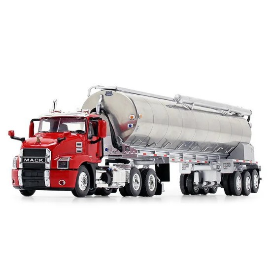 Picture of Mack® Anthem® Day Cab and Walinga® Bulk Feed Trailer red/silver