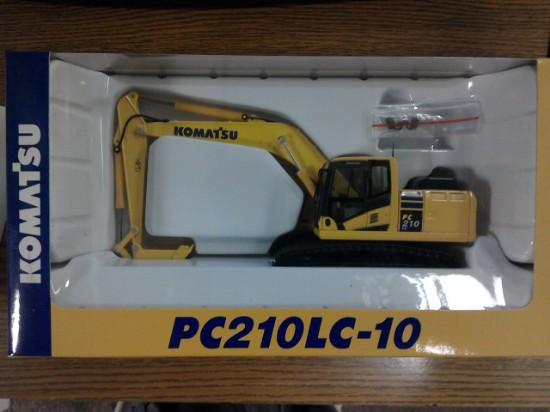 Picture of Komatsu PC210LC-10 track excavator
