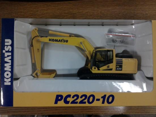 Picture of Komatsu PC220-10 track excavator