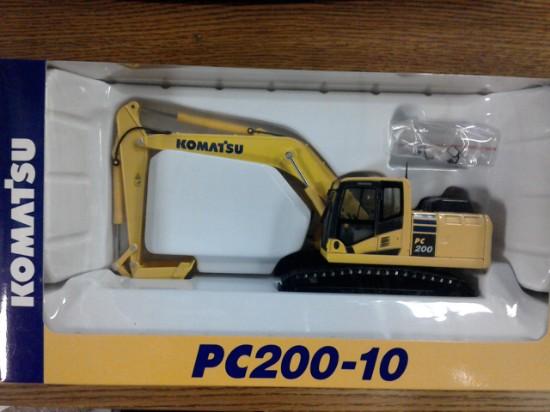 Picture of Komatsu PC200-10 track excavator