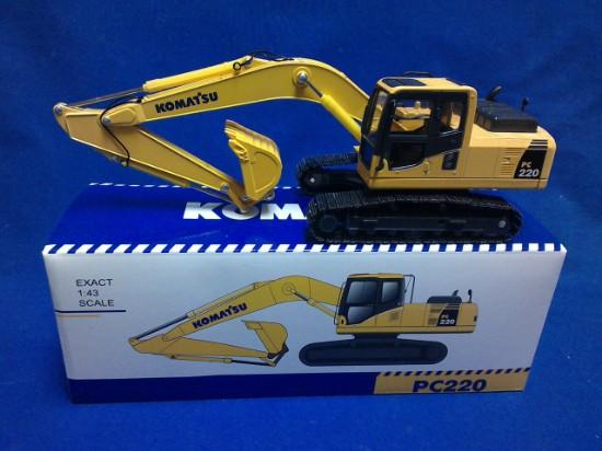 Picture of Komatsu PC220-8 track excavator