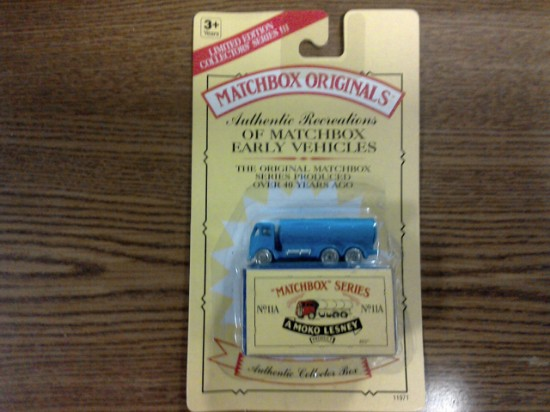 Picture of MATCHBOX ORIGINALS, AUTHENTIC RECREATIONS, NO 11A E.R.F Petrol Tanker