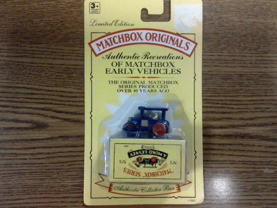 Picture of MATCHBOX ORIGINALS, AUTHENTIC RECREATIONS, NO 1, Aveling Barford Road Roller
