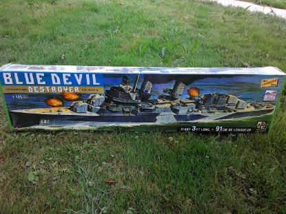 Picture of Blue Devil Destroyer - USS Melvin