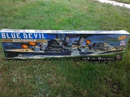 Picture of Blue Devil Destroyer - USS Melvin