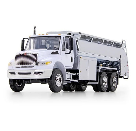 Picture of International® DuraStar® with Liquid Fuel Tank Body white/chrome