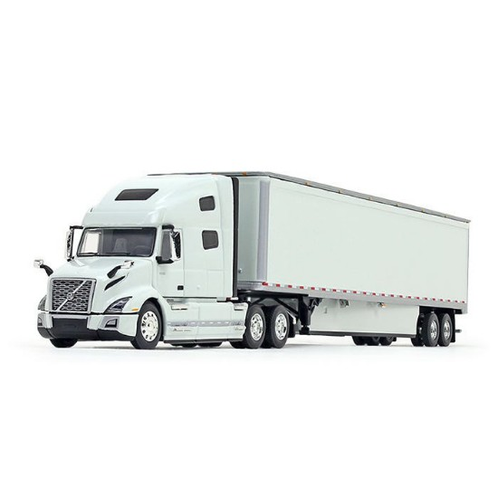 Picture of Volvo®  760 High-Roof Sleeper and 53' Trailer Skirts  - white