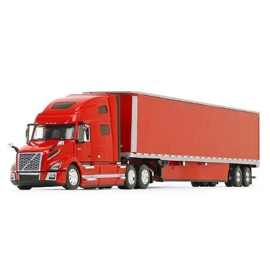 Picture of Volvo®  760 High-Roof Sleeper and 53' Trailer Skirts  - red