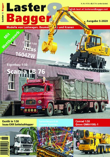 Picture of Laster & Bagger 5-2020 German- English download