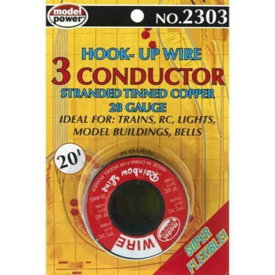 Picture of CONDUCTOR- 28 Gauge,  20'  Hook-up Wire - Red & Black