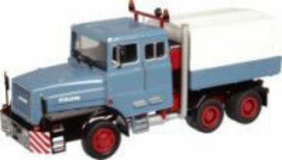 Picture of Faun 1206 heavy haul transport truck - blue