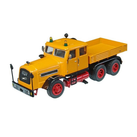 Picture of Kaelble KDV22 ZBT Heavy Haul Truck double cab - yellow