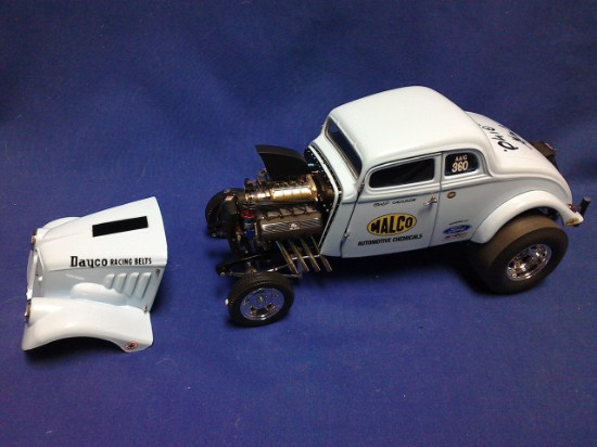 """Picture of 1933 Willys Gasser  """"Ohio George"""" Montgomery"""