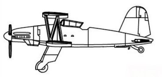 Picture of Fi-167A-ORecon Bomber Set(6/Box)