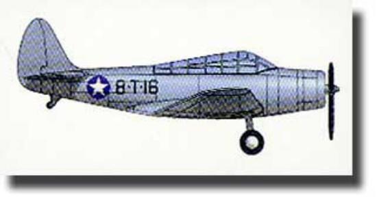Picture of Douglas TBD-1 Devastator Aircraft Set