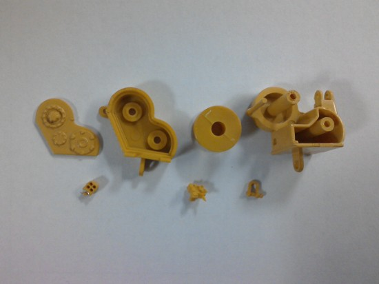 Picture of Winch for crawler tractors  - plastic kit - works on CCM D8K