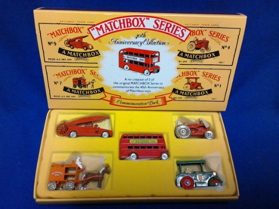 Picture of Vintage 1988 Matchbox Originals Limited Edition Five Pack Set