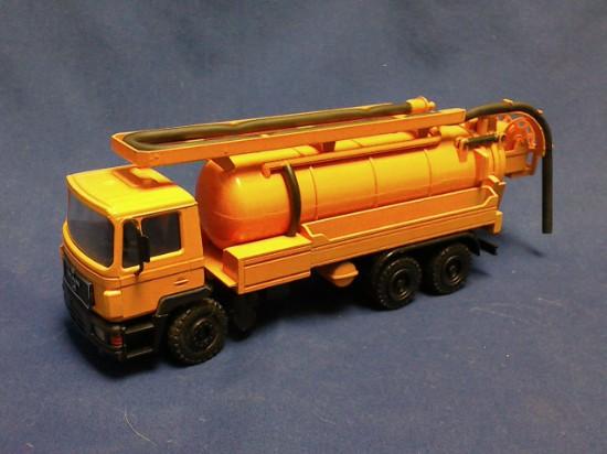 Picture of MAN Faun drain cleaner vacuum truck