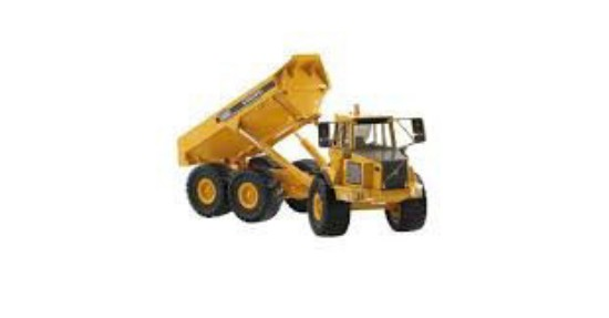 Picture of Volvo A25C articulated dump