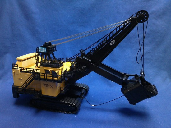 Picture of TZ cable mining shovel