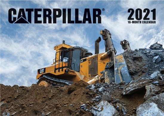 Picture of Caterpillar 2021 Calendar  16 month