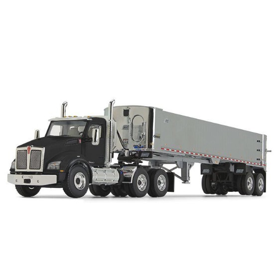 Picture of Kenworth® T880 with East® Genesis™ End Dump Trailer - black/Chrome