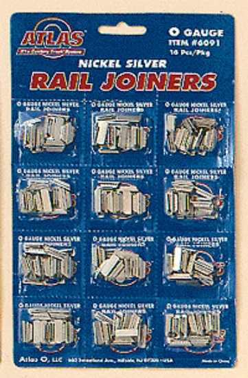 Picture of O - nickel silver rail joiners(16)