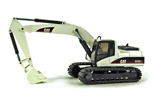 Picture of Caterpillar 325CL track excavator - white