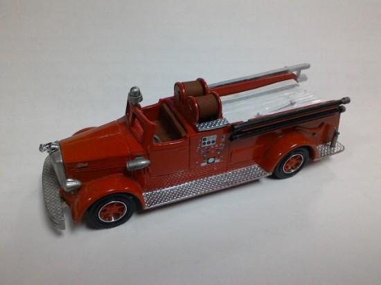 Picture of Mack L open cab pumper fire truck