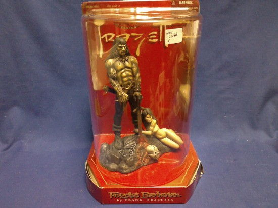 Picture of Frazetta'a Barbarian  Figure