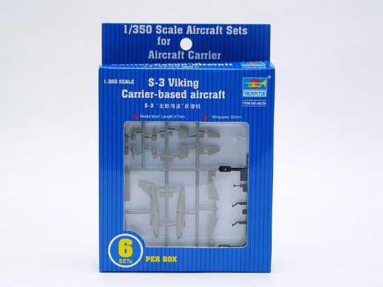 Picture of S3B Viking Aircraft Set for USS Nimitz ( 6/box)